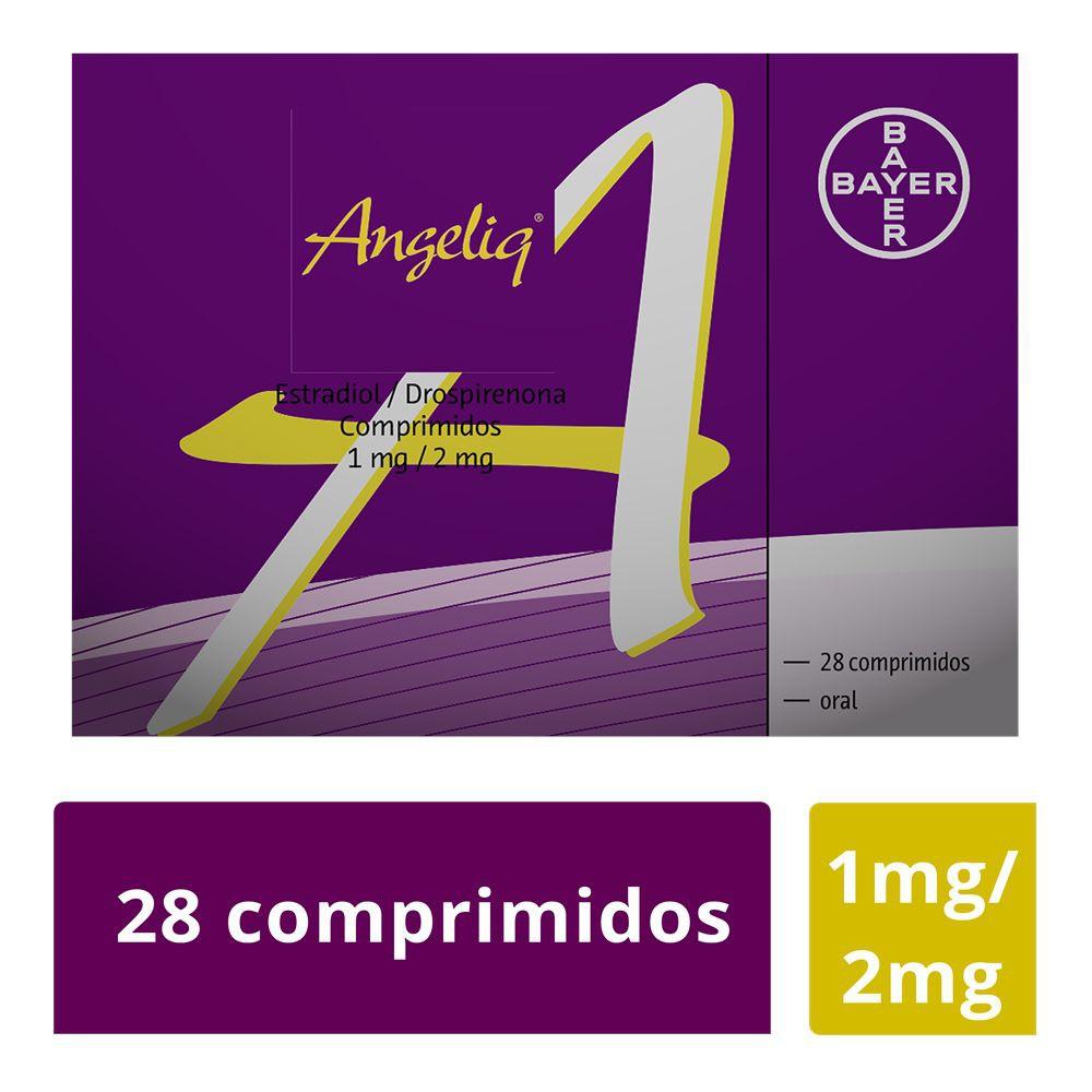 Angeliq estradiol / drospirenona comprimidos 1 / 2 mg