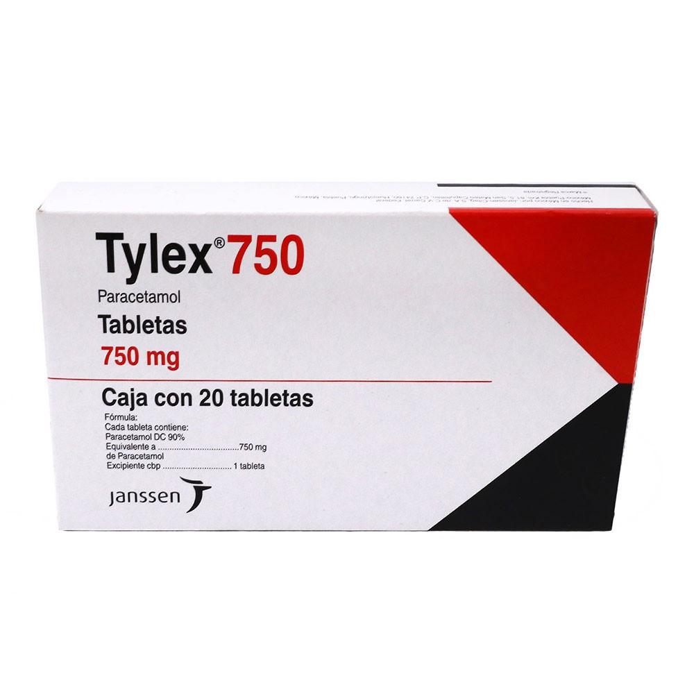 Tylex 750 mg tabletas