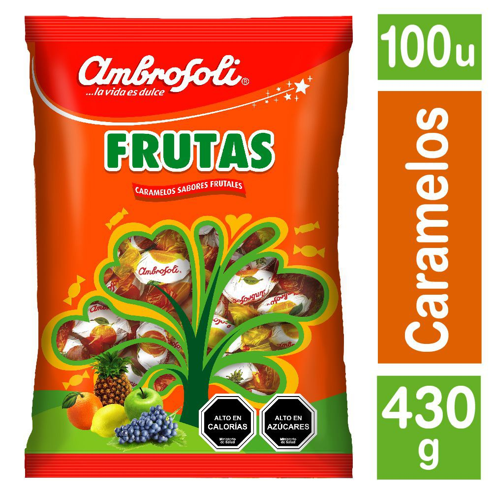 Caramelos sabor fruta