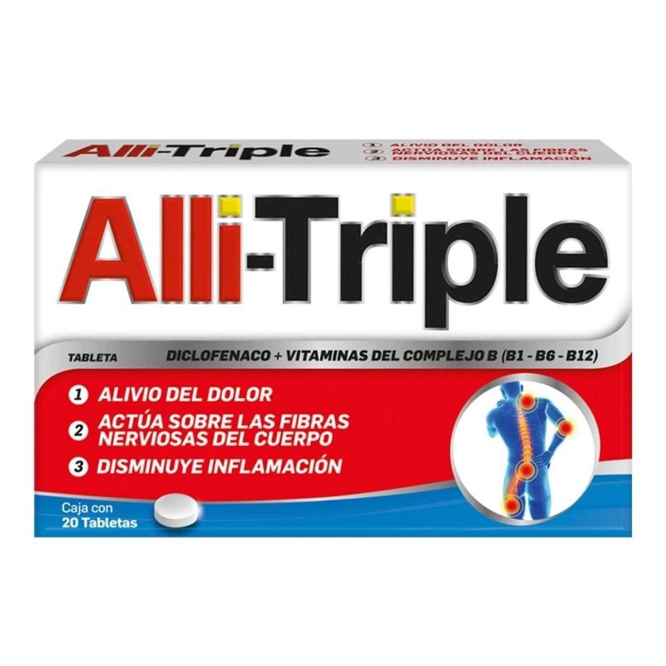 Diclofenaco sódico + vitaminas tabletas