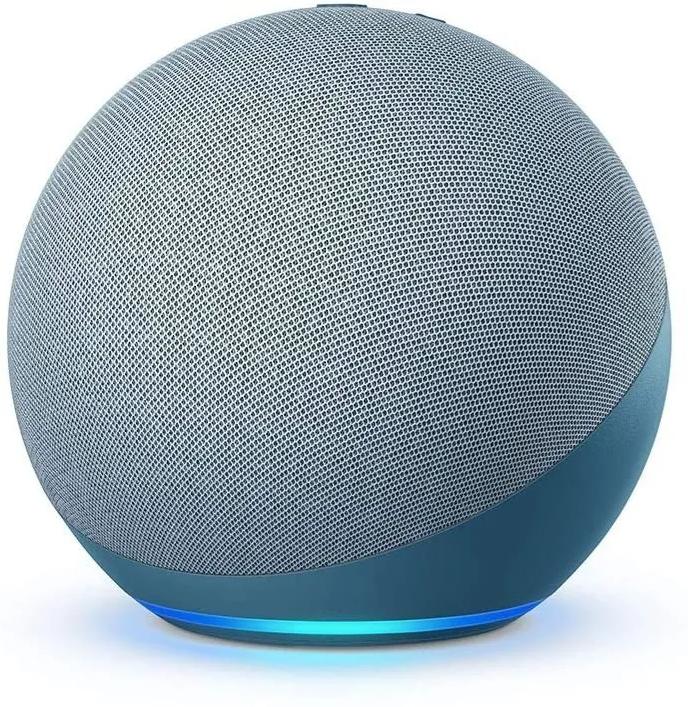 Nuevo echo dot (4ta generación)   con alexa - twilight blue 1