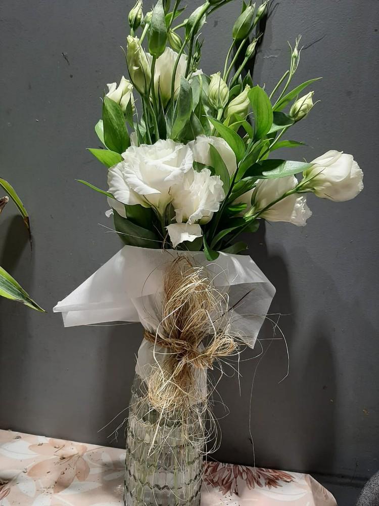 Florero de Lisianthu