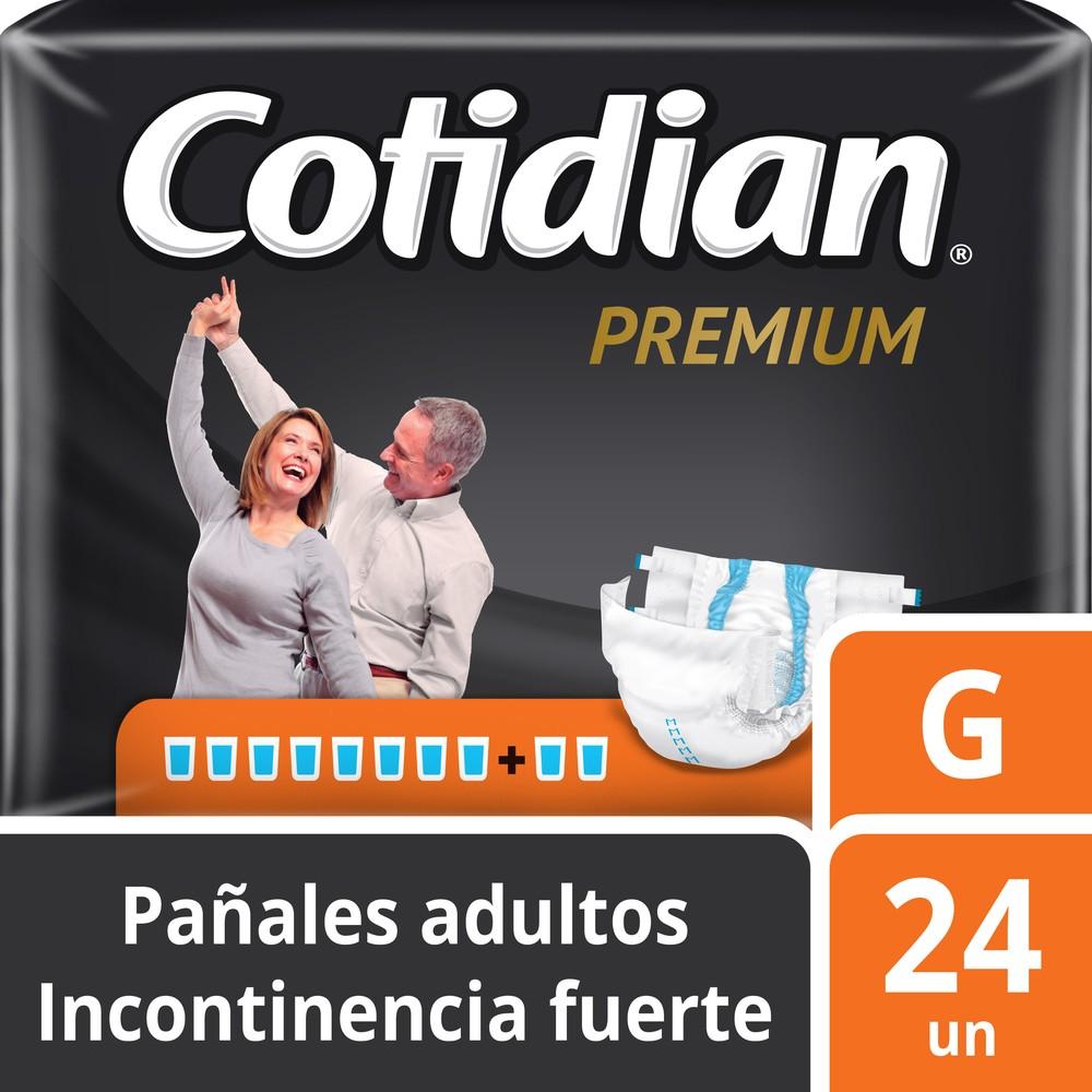 Pañal adulto premium incontinencia fuerte