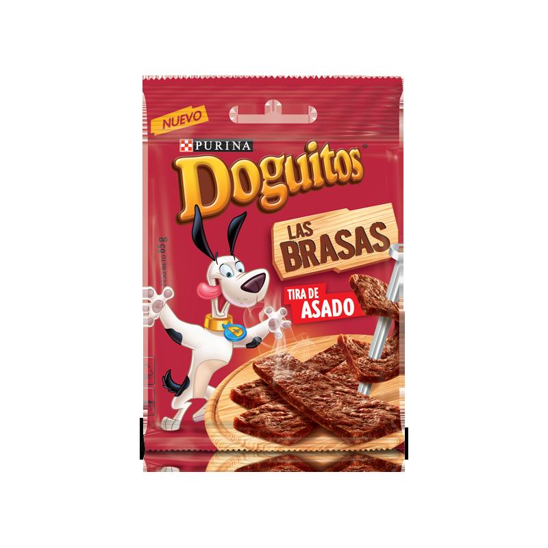 Snack para perro tira de asado Bolsa 65 g