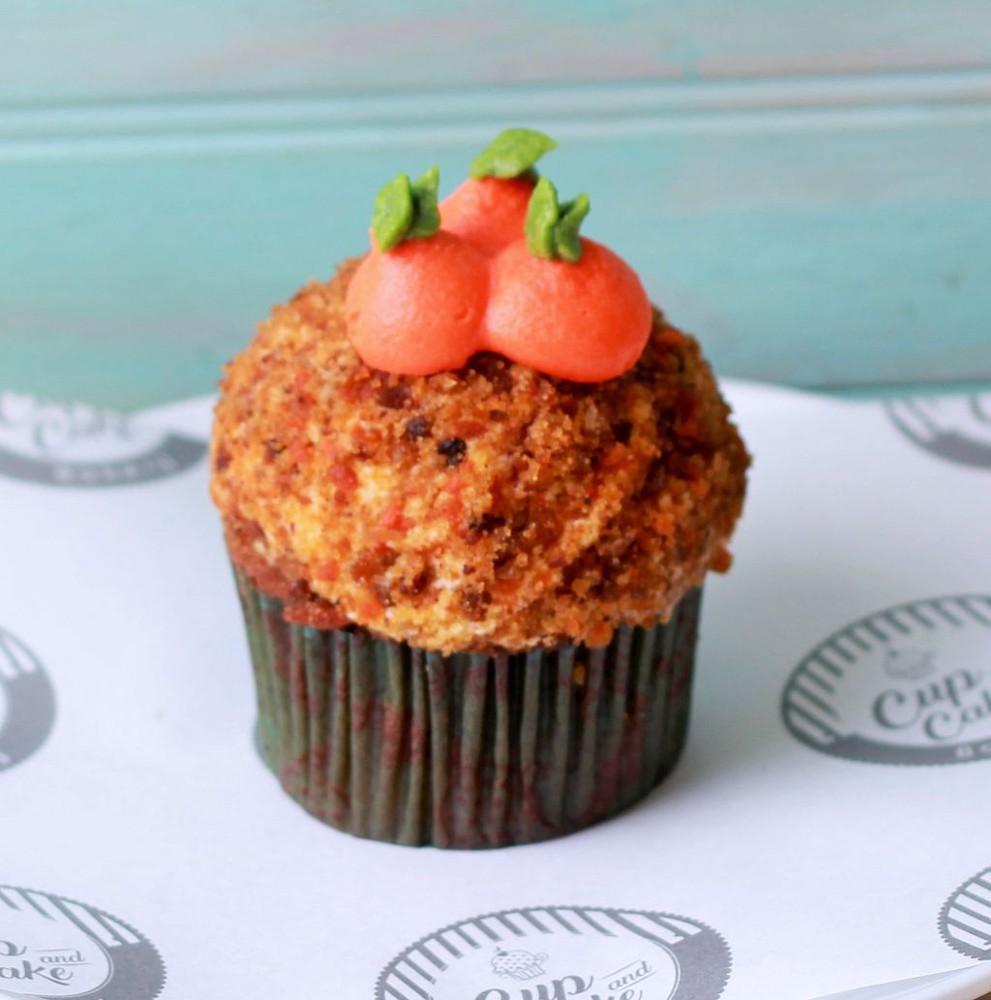 Cupcake Zanahoria Unidad (1 Persona)