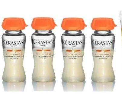 Kit inyeccion de nutricion y brillo concentré oleo fusion serum + booster brillance (4 ampollas) 12 ml
