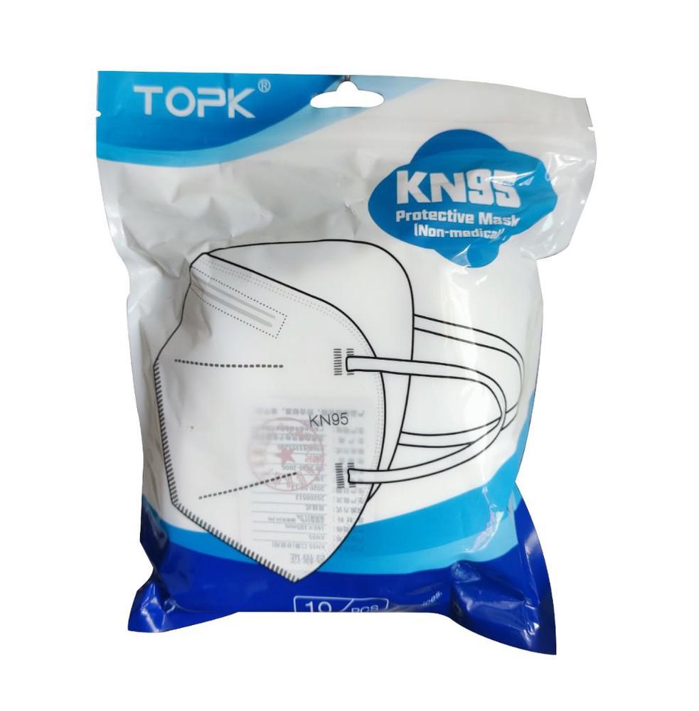 TOPK  Mascarillas KN95 + Regalo 30 ml Desengrasante Alto Poder
