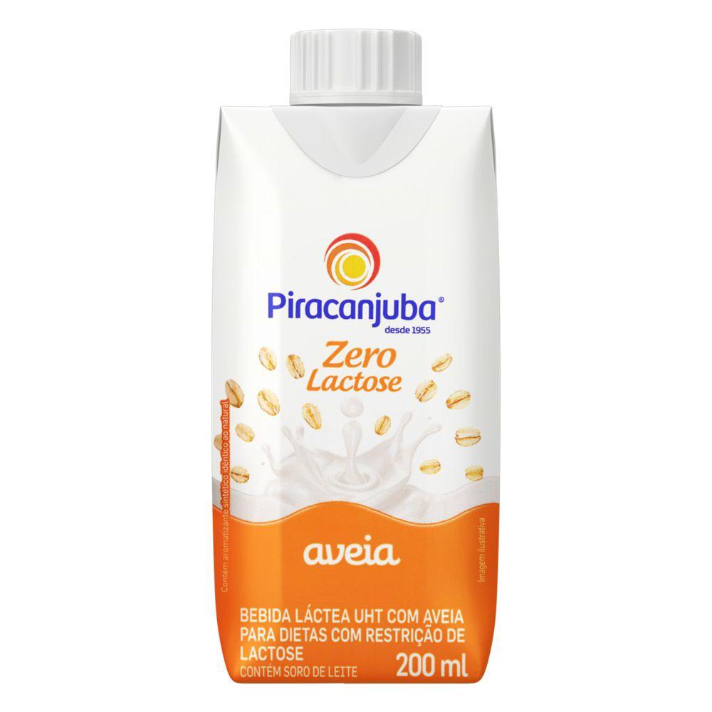 Bebida láctea UHT com aveia zero lactose