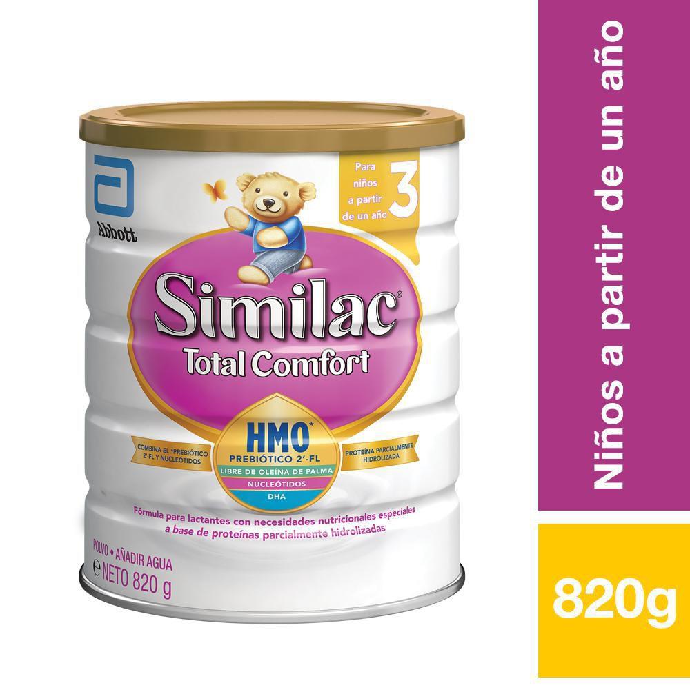 Fórmula Total confort para problemas gastrointestinales sabor vainilla