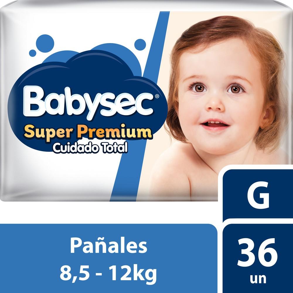 Pañal desechable super premium talla G