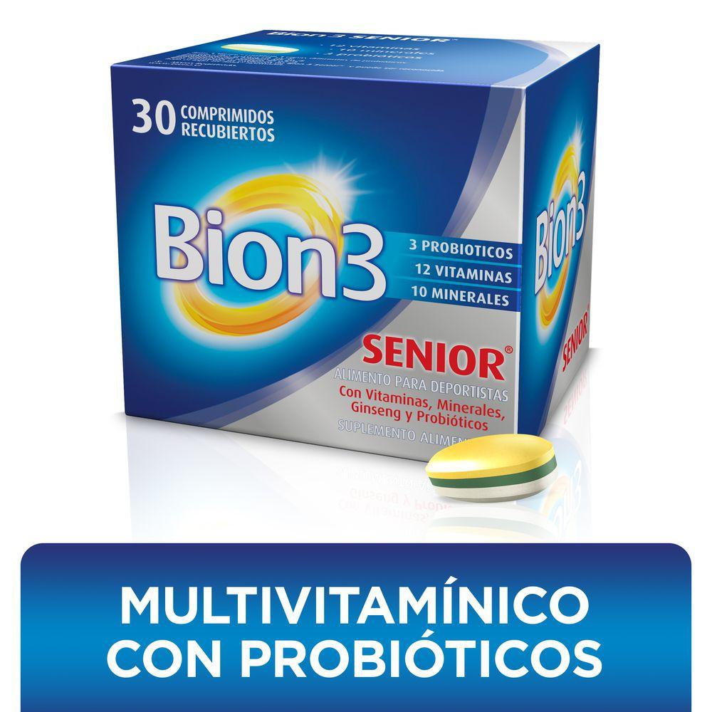Senior vitaminas, minerales, ginseng