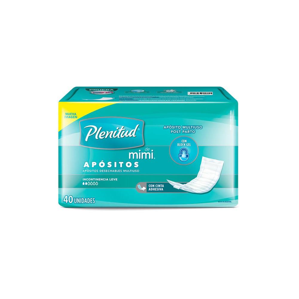 Apósito desechable adulto incontinencia leve