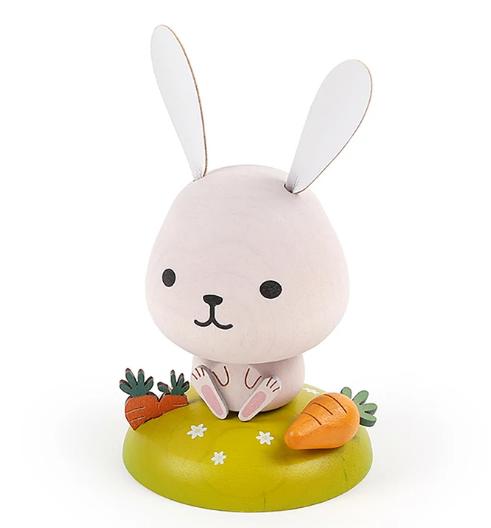 Deco wooderful life– bobbler bunny spring decorations