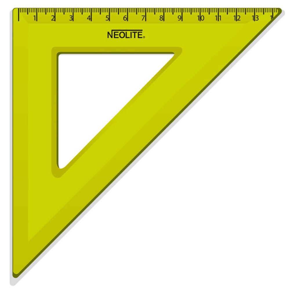 Escuadra biselada 45° x 20 cm