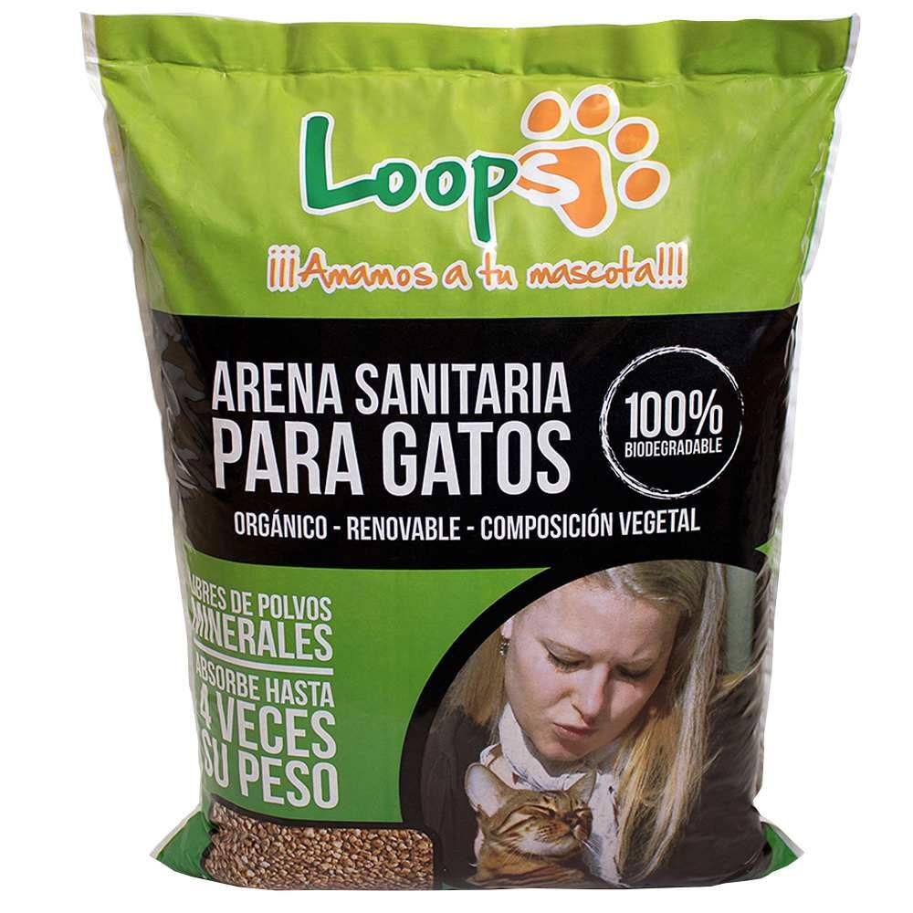 Arena Sanitaria para Gatos Biodegradable Bolsa