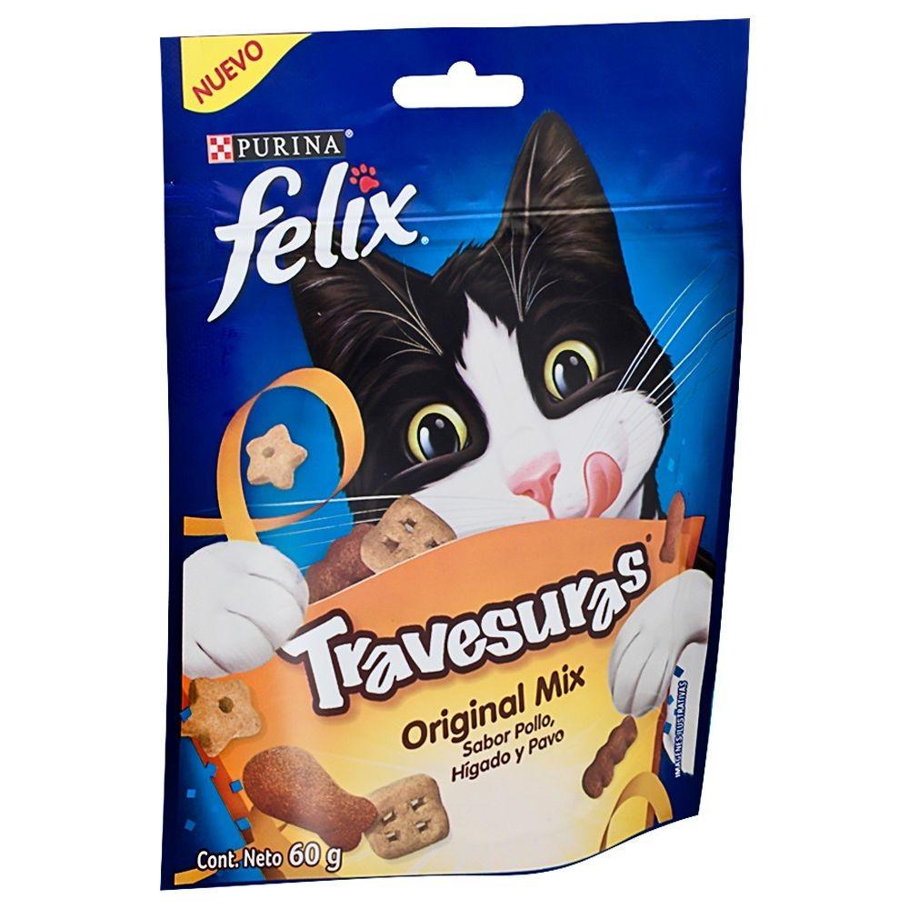 Snack travesuras bocaditos original mix gatos