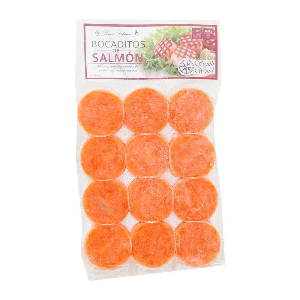 Bocaditos de salmón