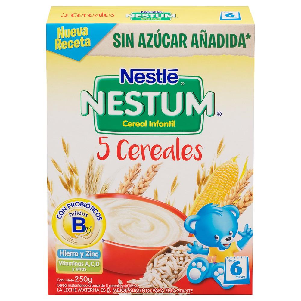 Cereal infantil sabor 5 cereales