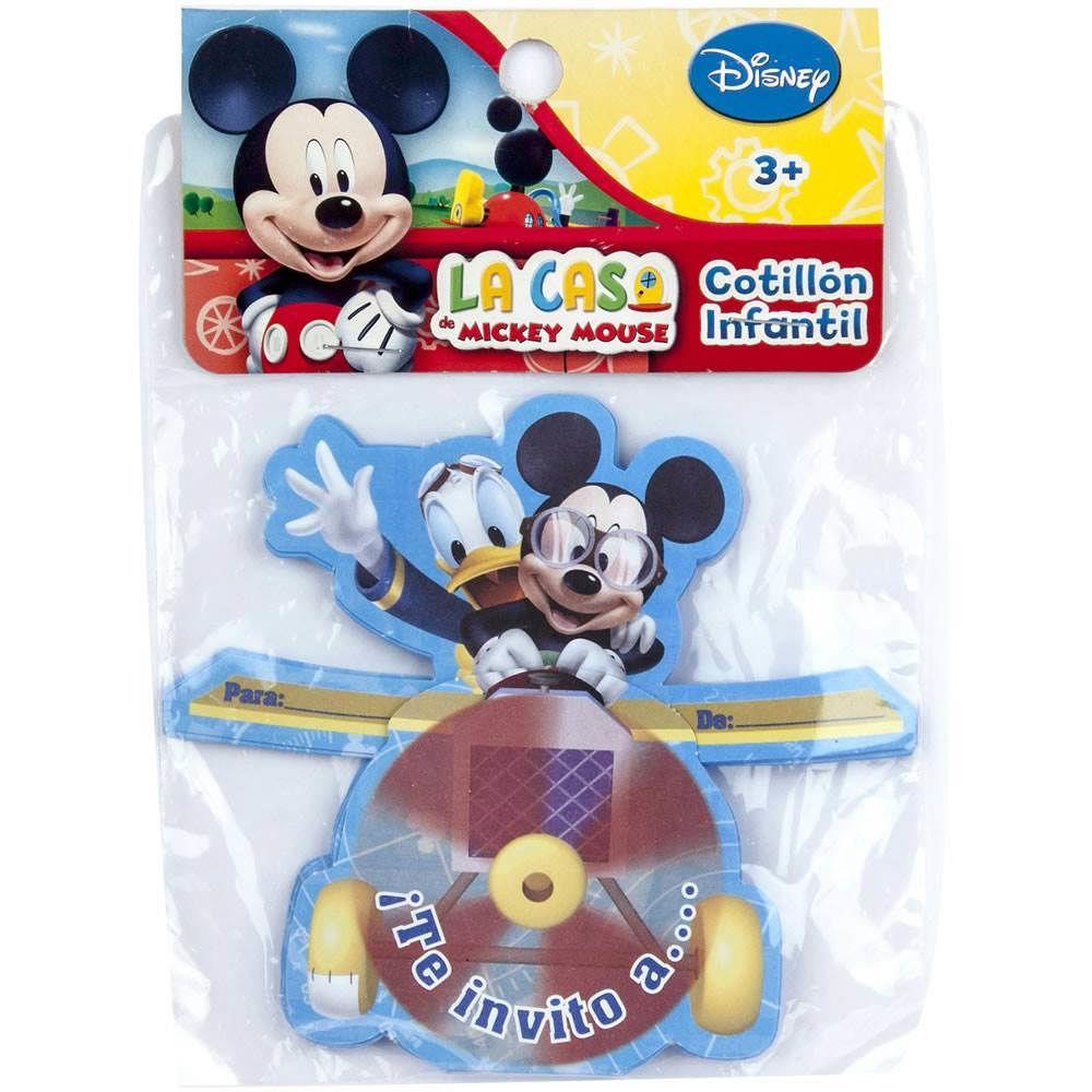 Tarjetas De Invitación Mickey Rocks 6 Un Cornershop