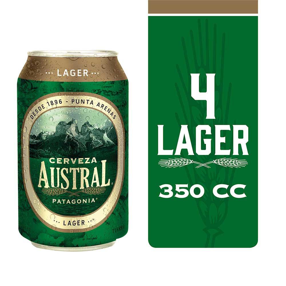 Cerveza lager pack