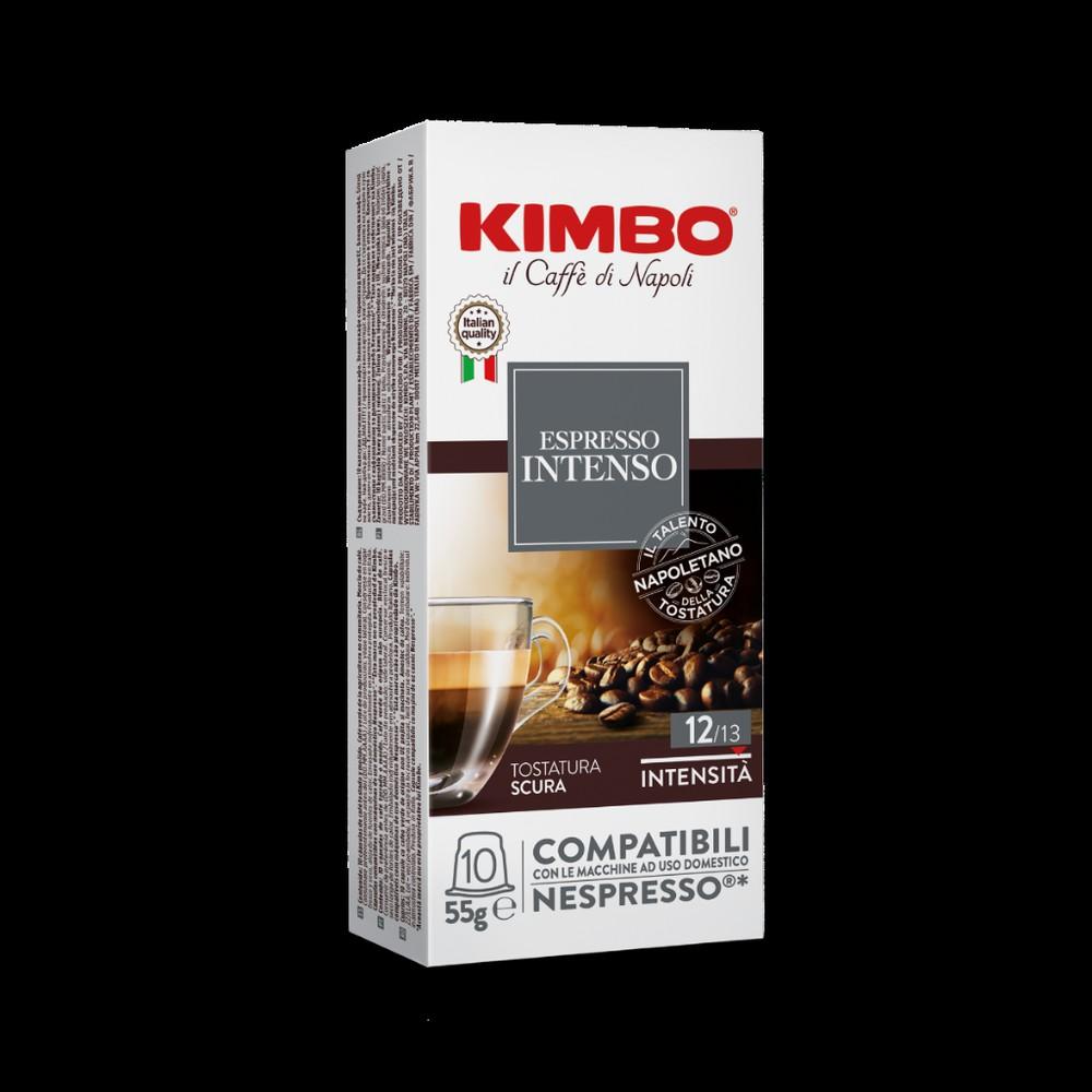 Cápsulas café Intenso de 5,5 gr. NESPRESSO® COMPATIBLE. 10 cápsulas
