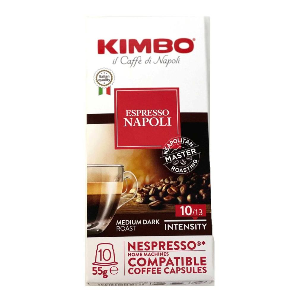 Cápsulas café Nápoli de 5,5 gr. NESPRESSO® COMPATIBLE. 10 cápsulas