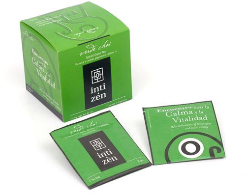 Verde chai, té verde con jengibre y cardamomo
