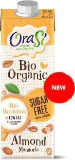 Orasi organic almendra sin azucar 1 l