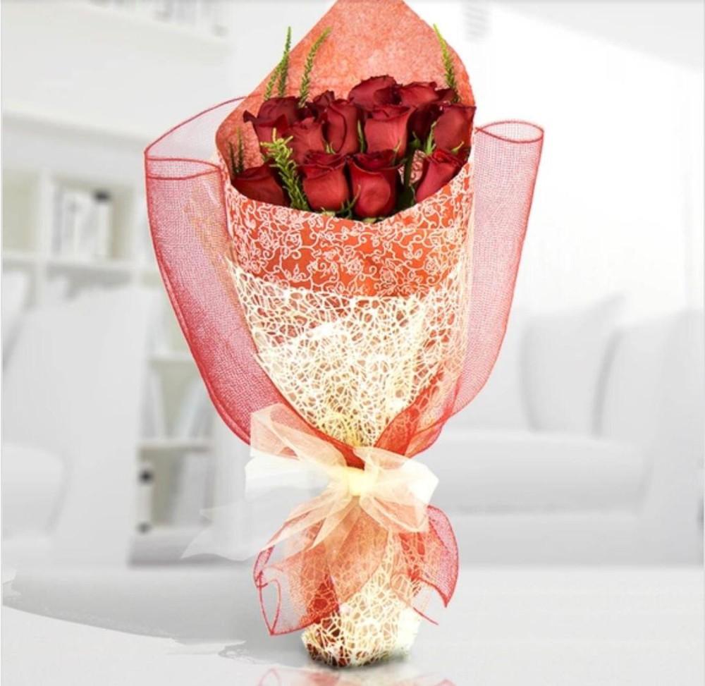 Rosas ecuatorianas rojas
