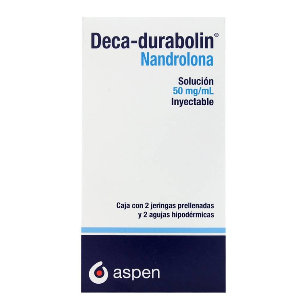 Deca-durabolin solución inyectable 50 mg/mL