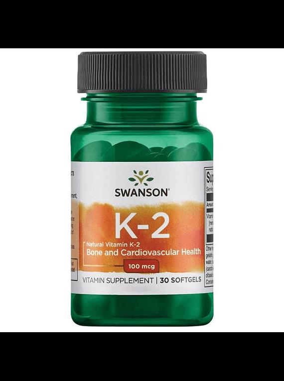 Vitamina k2 en capsulas softgel