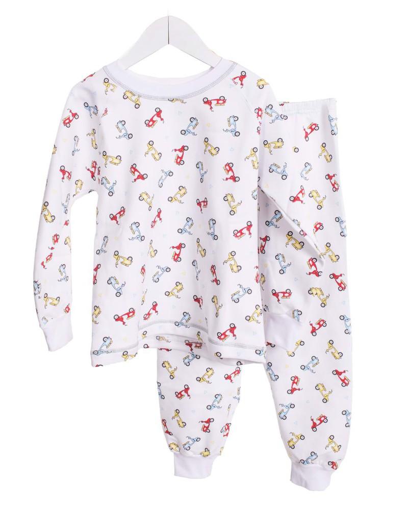 Pijama afranelado variedad de estampados Talla 8