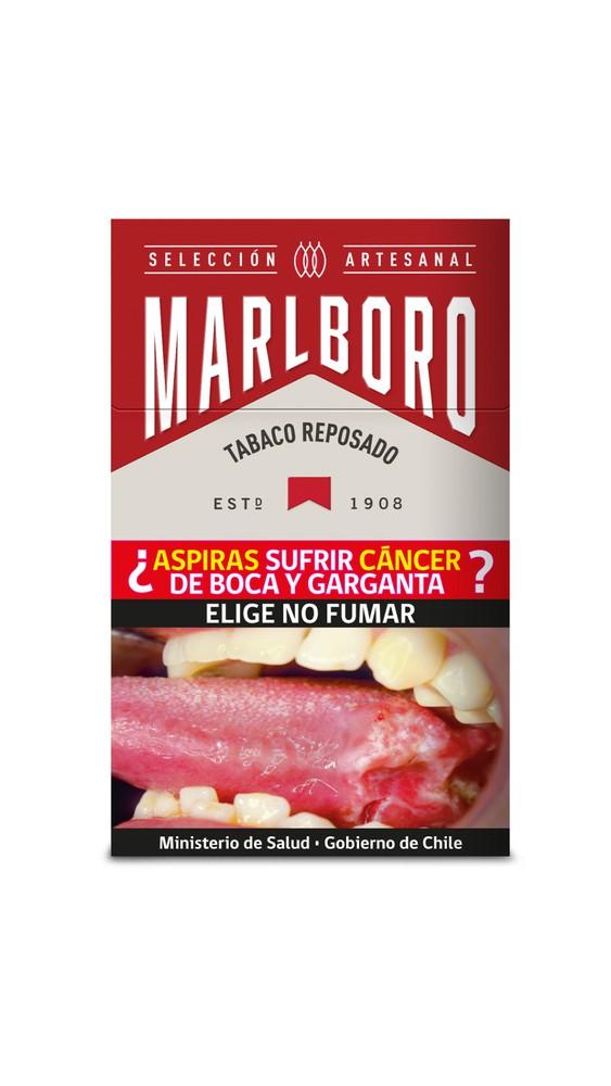 Cigarro marlboro crafted red box