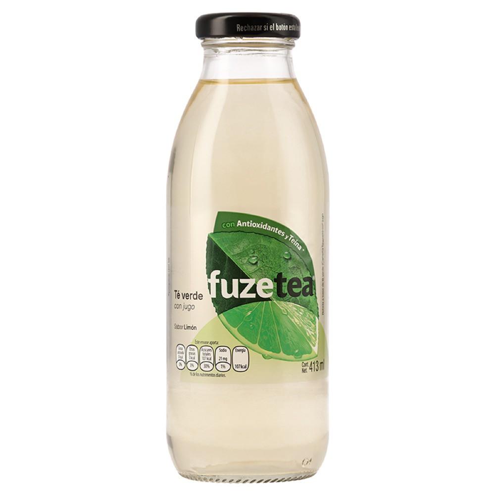 Té verde Fuze Tea con jugo sabor limón 413 ml