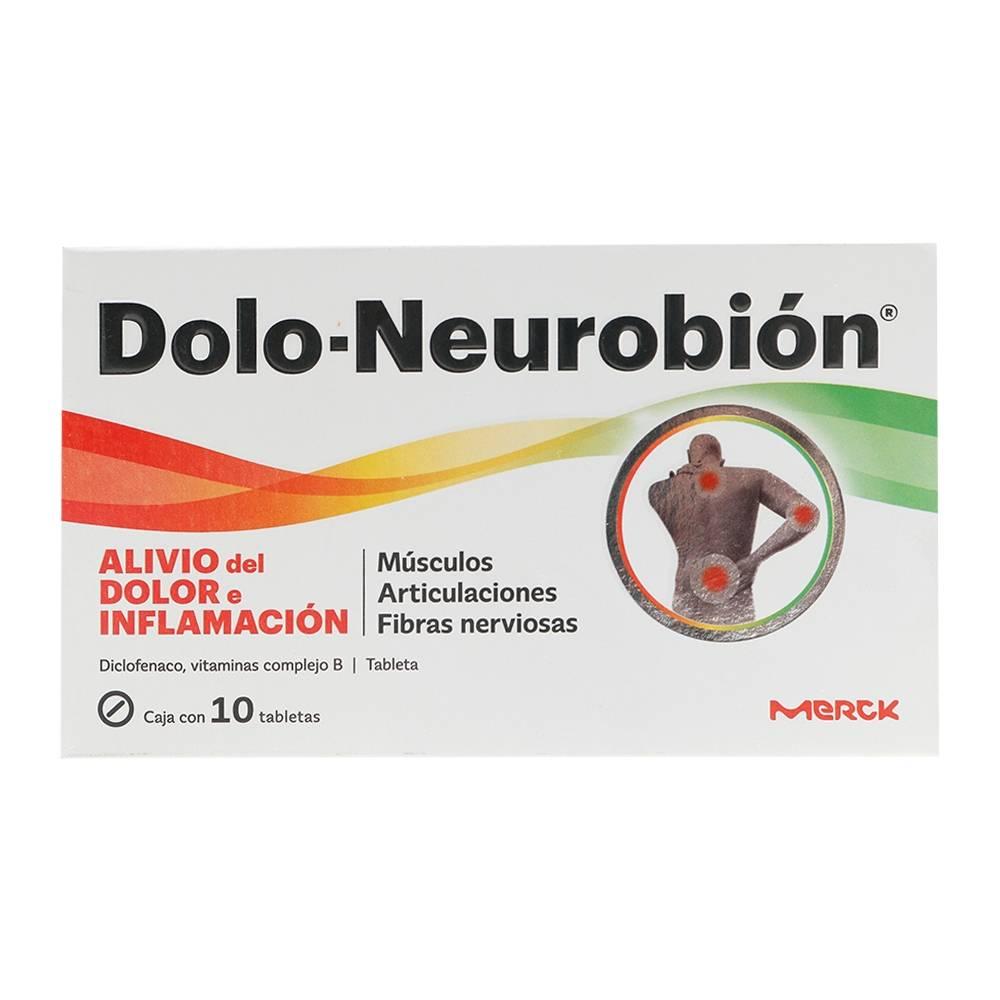 Dolo-Neurobión 10 tabletas