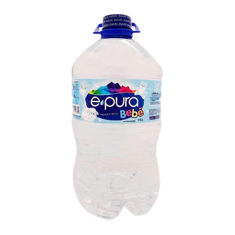 Agua para bebé sin sodio