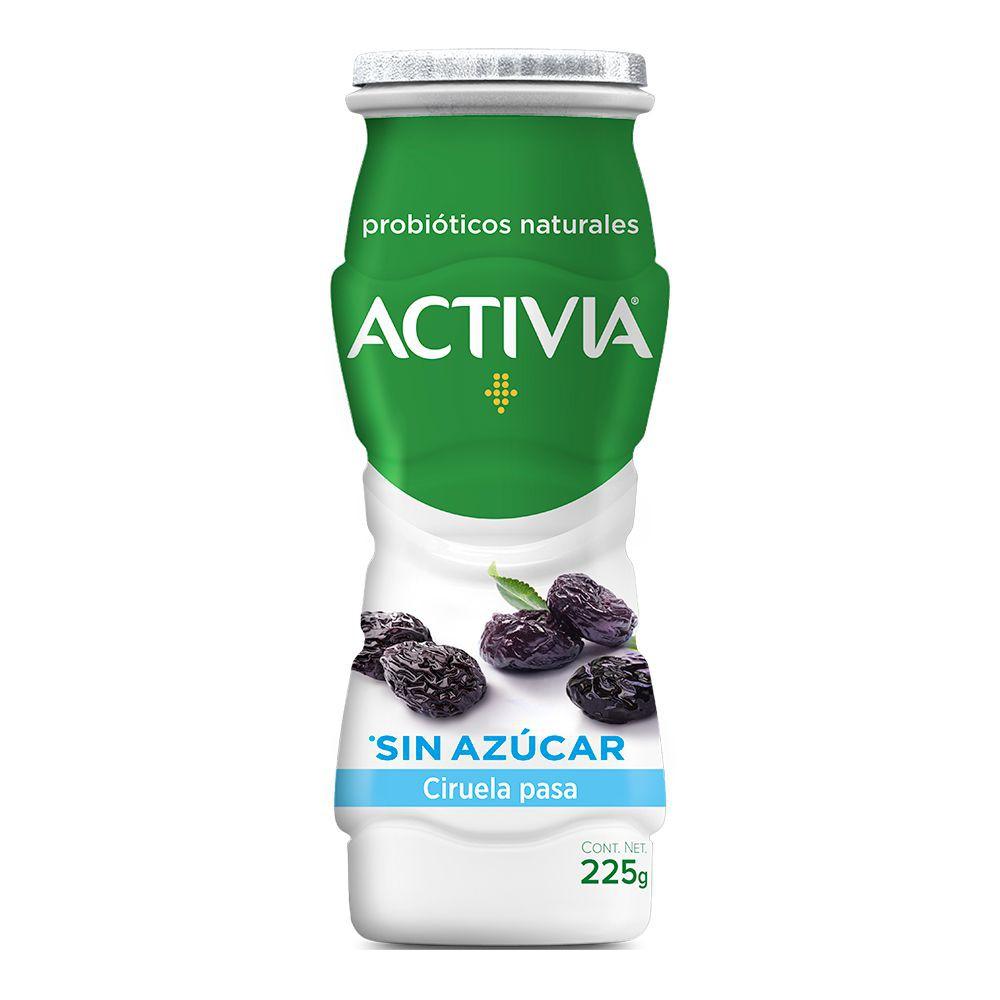 Yoghurt bebible de ciruela pasa 0%