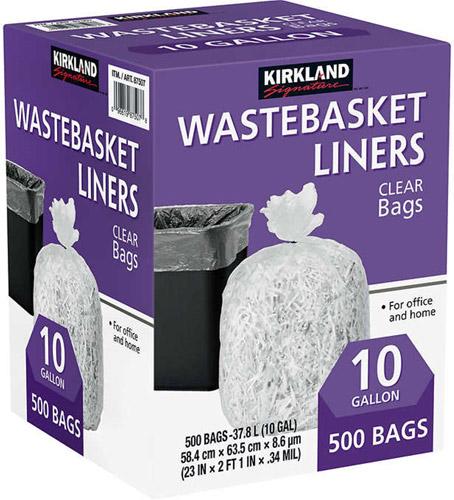 Bolsas de basura 500 Uni.