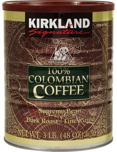 Café molido 100% colombiano