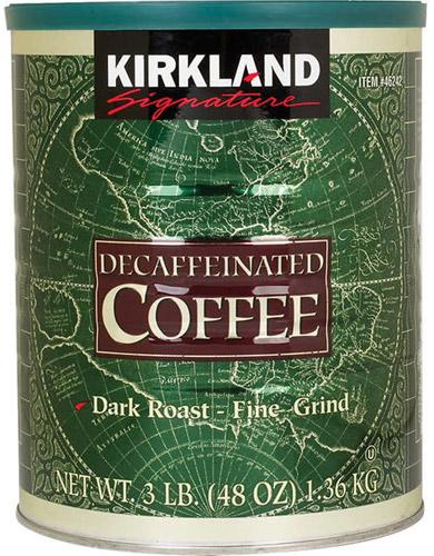 Café descafeinado para filtrar
