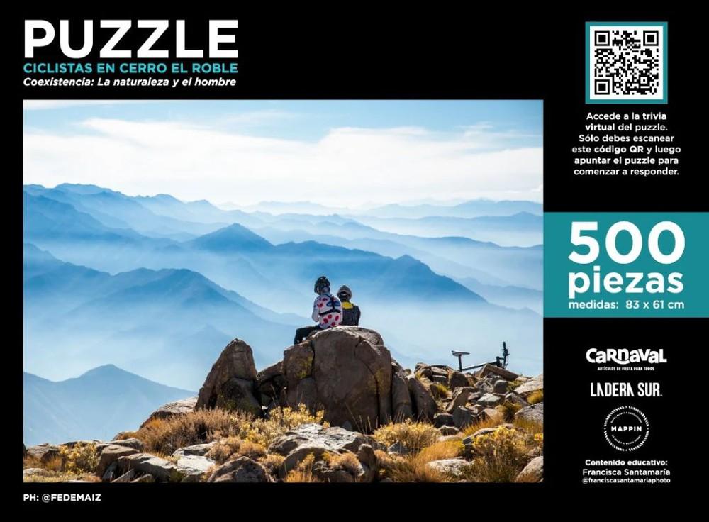 Puzzle cerro el roble - 500 piezas
