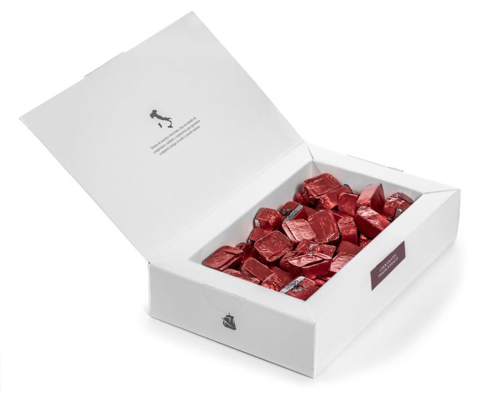 Chocolate almendrado tradicional Caja 420 g