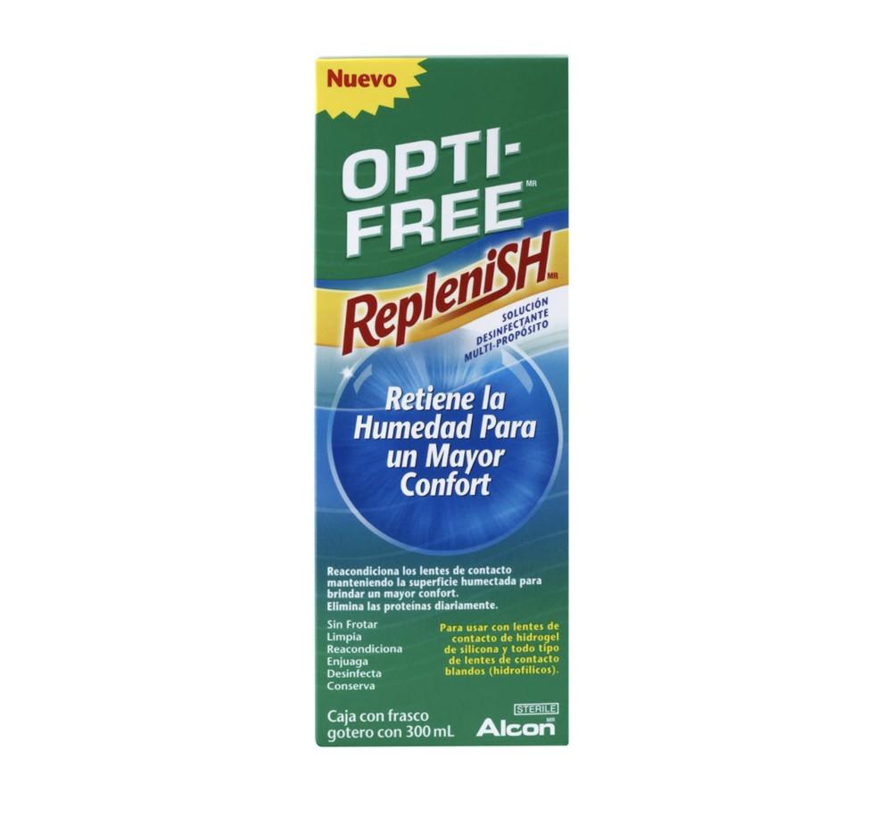 Opti free solución desinfectante