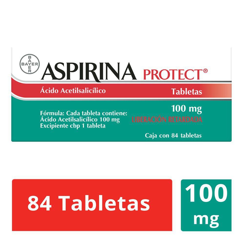 Aspirina Protect ácido acetilsalicílico tabletas 100 mg