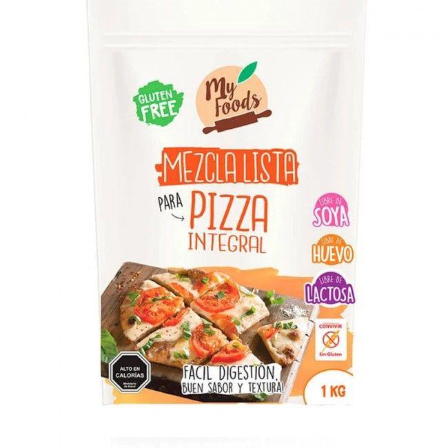 Mezcla integral lista para pizza