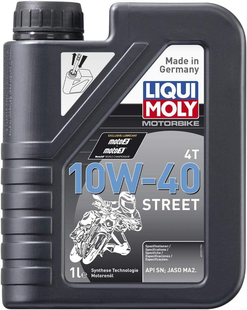 Aceite liquimoly 10w40 street 4t 1 l