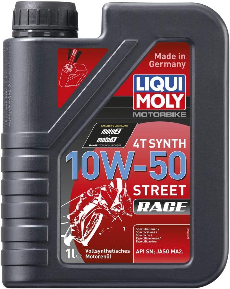Aceite liquimoly 10w50 full sintetico 4t 1 l