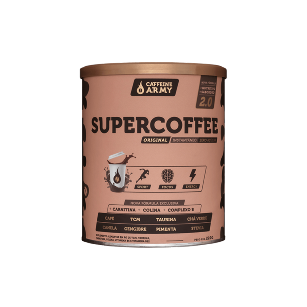 Supercoffee sabor tradicional