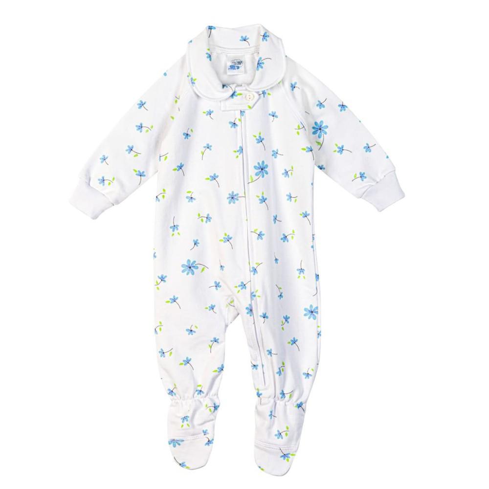 Pijama 1/pza afranelado variedad de estampados Talla 18-24