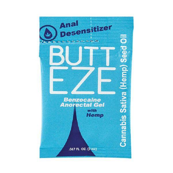 Lubricante butt eze anal desensibilizador 2 ml.